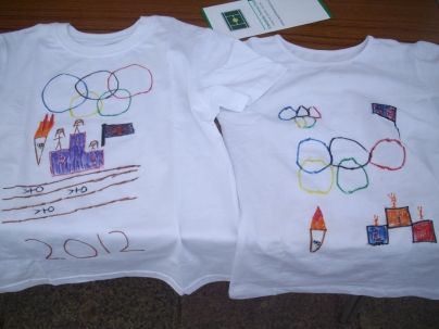 Olympic Torch Relay Open Day - design a t-shirt