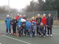 New season touchtennis Tournament - group photo