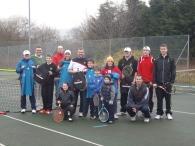 New season touchtennis Tournament - group photo