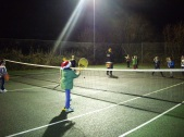 Christmas Party - fun and games on court