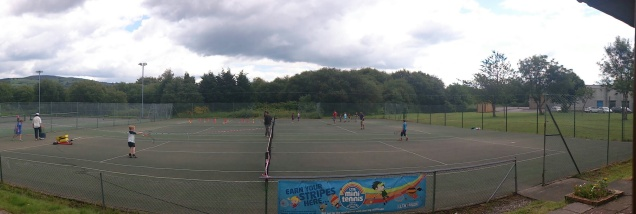Wimbledon Open Day - panorama of activities