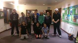 Teens Tinsel touchtennis Tournament