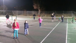 Mini Tennis Christmas Party - lots of fun and games!