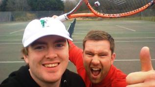 CTC25 Tennis-thon - Guest coach Wyn Lewis