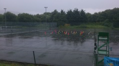 Wimbledon Open Day - rain stop play