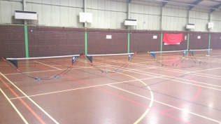 Ystrad Tennis - winter programme at Sue Noake Leisure Centre