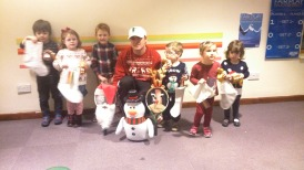 Tots Festive Fun Christmas session