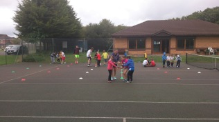 Summer camps 2016 - tennis tower relays