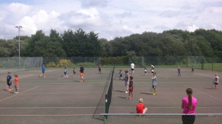 Summer camps 2016 - Olympic afternoon, team tennis