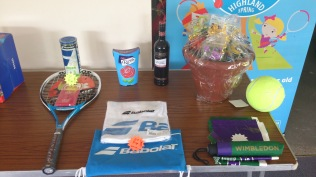 Wimbledon Open Day - raffle prizes on offer