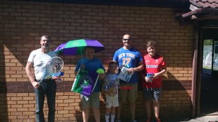 Wimbledon Open Day - a few of our raffle winners