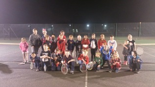 Mini Tennis Christmas Party