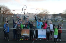 Aussie Open Benenden Tennis Festival - group photo