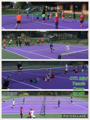 Summer Holidays 2017 - Mini Tennis Camp