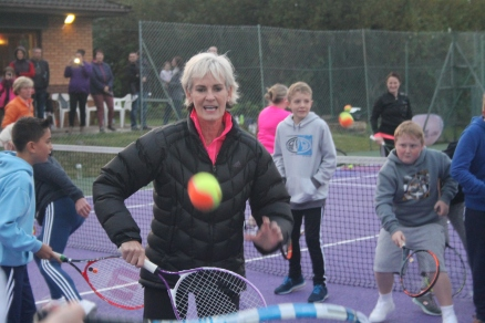 Judy Murray Visits CTC - 10/10/2017