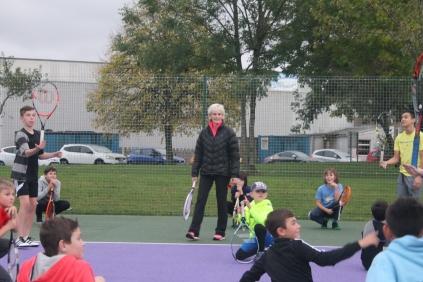 Judy Murray Visits CTC - 10/10/2017