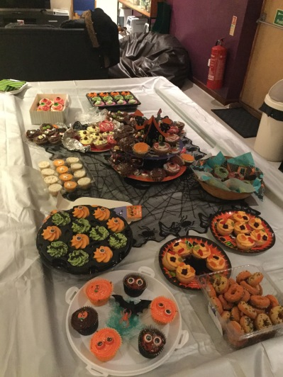 Halloween Party 2017 - cupcake competition