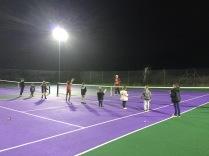 Mini Tennis Christmas Party
