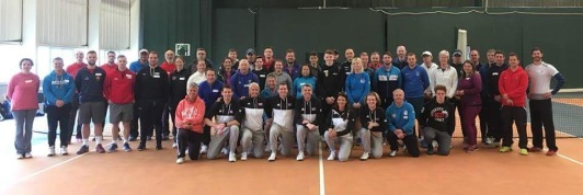 Tennis For Kids Wales Coach Training