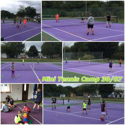 Summer Holidays 2018 - Mini Tennis Camp