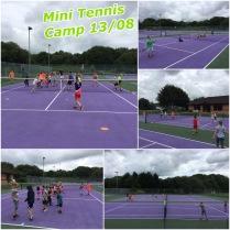 Summer Holidays 2018 - Mini Tennis Camp