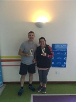 Club Championships 2018 - Mixed Doubles Winners
