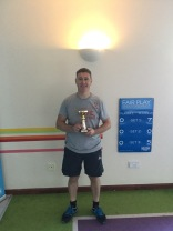Club Championships 2018 - Men's Singles Winner