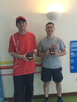 Club Championships 2018 - Men's Doubles Winners
