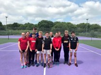 Primary Schools Tennis Competitions 2018 - Y Gwyndy Leaders